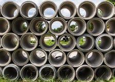 Tubi di scarico immagine stock