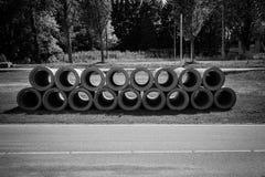 Tubi di scarico Fotografie Stock Libere da Diritti