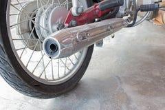 Tubi di scarico del motociclo Fotografia Stock Libera da Diritti