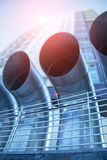 Tubi di ventilazione Immagini Stock Libere da Diritti