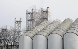 Tubi di ventilazione Fotografia Stock