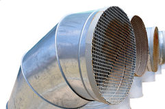 Tubi di ventilazione Immagine Stock