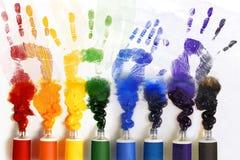 Tubi di vernice Immagine Stock Libera da Diritti