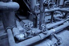 Tubi e valvole Fotografie Stock Libere da Diritti