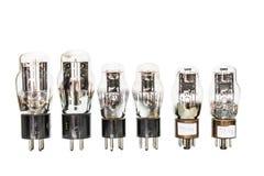 Tubi elettronici del preamplificatore di vuoto Fotografie Stock Libere da Diritti