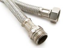 Tubi flessibili del metallo Fotografie Stock Libere da Diritti