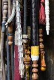 Tubi flessibili di Nargile, Costantinopoli, Turchia Fotografia Stock Libera da Diritti