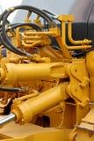 Tubi flessibili e pistoni idraulici Fotografia Stock Libera da Diritti