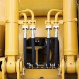 Tubi flessibili idraulici Immagini Stock Libere da Diritti