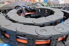 Tubi flessibili idraulici Fotografia Stock Libera da Diritti