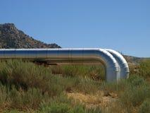 Tubi geotermici 02 Fotografia Stock