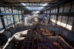 Tubi industriali Immagini Stock Libere da Diritti