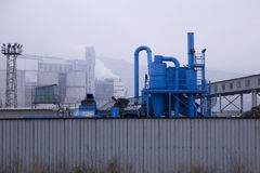 Tubi industriali per l'acqua di pulizia Immagini Stock Libere da Diritti