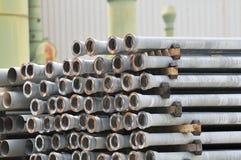 Tubi metallici Fotografia Stock Libera da Diritti