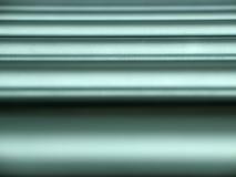 Tubi orizzontali del metallo Fotografia Stock Libera da Diritti