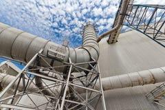 Tubi per il sistema di purificazione dell'aria Immagine Stock Libera da Diritti