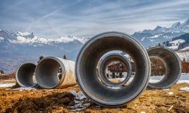 Tubi tubolari Immagine Stock Libera da Diritti