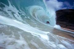 Tubing Shore Wave Stock Photos