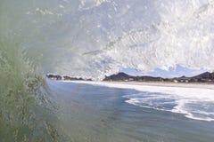 Tubing wave Royalty Free Stock Image