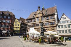 Tubingen, Deutschland Stockfotografie