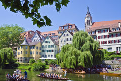 Tubingen, Picturesque Town In Germany Royalty Free Stock Images