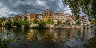 Tubingen (Tuebingen) stad - Tyskland Royaltyfria Bilder