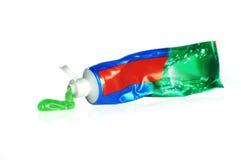 Tubka pasta do zębów Zdjęcia Stock