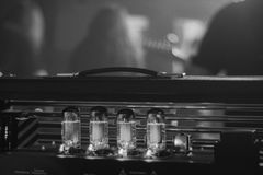 Tubki gitary amplifikator Obraz Stock