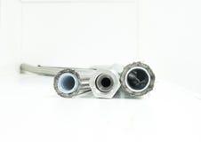 Tubo ad alta pressione dell'aria compressa Fotografia Stock