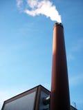 Tubo con fumo Fotografia Stock