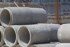 Tubo concreto Foto de archivo