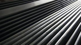 Tubo de acero Fotos de archivo