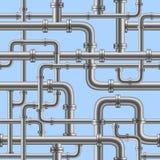 Tubo de agua inconsútil ilustración del vector