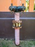 Tubo de agua tradicional Imágenes de archivo libres de regalías