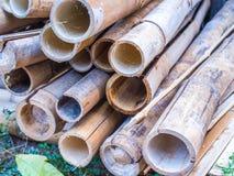 Tubo de bambu Foto de Stock Royalty Free