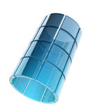 Tubo de cristal Imágenes de archivo libres de regalías