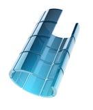 Tubo de cristal Imagenes de archivo