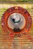 Tubo de desagüe del malecón Foto de archivo libre de regalías