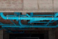 Tubo de desagu'e del retrete, tubo de drenaje foto de archivo libre de regalías
