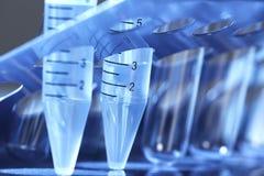 Tubo de ensayo del laboratorio. imagen de archivo