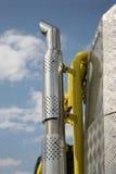 Tubo de escape Imagen de archivo