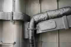 Tubo de escape Fotos de archivo