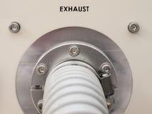 Tubo de escape Imagen de archivo libre de regalías