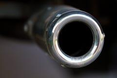 Tubo de escape de Chrome Foto de archivo libre de regalías