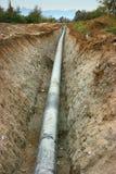 Tubo de gas Fotografía de archivo
