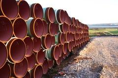 Tubo de gas Foto de archivo libre de regalías