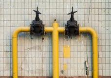 Tubo de gas Fotografía de archivo libre de regalías