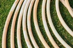Tubo de goma Imagenes de archivo