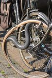 Tubo de la bicicleta Imágenes de archivo libres de regalías