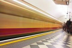 Tubo de la falta de definición de movimiento Foto de archivo